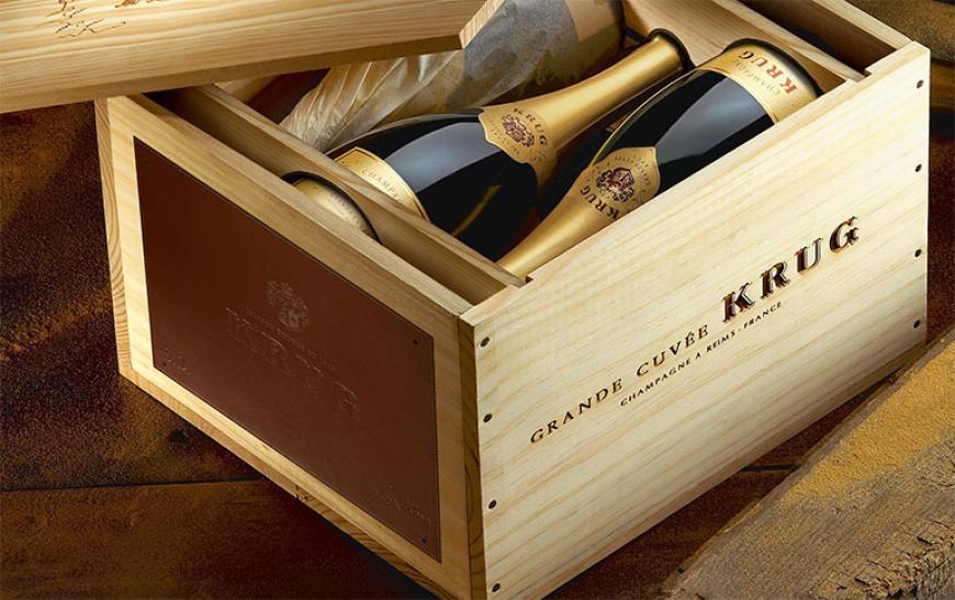 Кейсы для шампанского Круг - фото