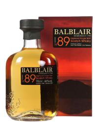 1989 Balblair Vintage фото