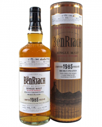 1985 Benriach Single Cask 21 Year Old фото