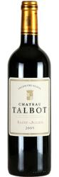 Вино Chateau Talbot St-Julien AOC 4-me Grand Cru Classe, 2005
