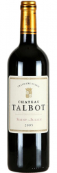 2005 Chateau Talbot St.-Julien AOC фото