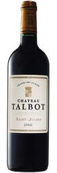 Вино Chateau Talbot St-Julien AOC 4-me Grand Cru Classe, 2006