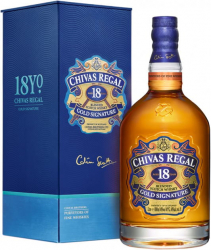 Chivas Regal Gold Signatire 18 Years Old фото