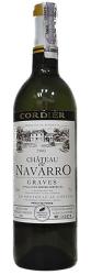 Вино Cordier Chateau De Navarro Blanc, 2005