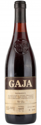 1977 Gaja Barbaresco фото