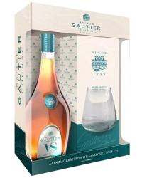 Gautier VS gift box & glass фото