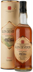 Виски Glen Deveron Single Malt, 1980