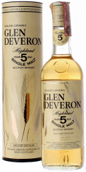 Glen Deveron Single Malt 5 Years Old фото