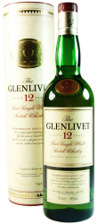 Виски Glenlivet 1990s 12 Years Old