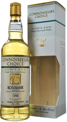 1990 Gordon & MacPhail Connoisseurs Choice Rosebank 15 Years Old фото