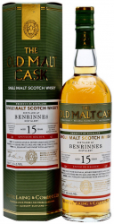 Виски Hunter Laing Old Malt Cask Benrinnes 15 Years Old