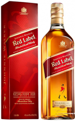 John Walker & Sons Red Label 3 Years Old 1 liter фото