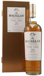 Macallan Fine Oak 25 Years Old