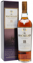 1992 Macallan Sherry Oak 18 Years Old фото