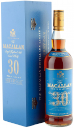 Macallan Sherry Oak 30 Years Old, Blue Label фото