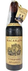 Десертное вино Массандра Солнечная Долина, 1975