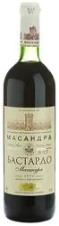 Десертное вино Массандра Бастардо