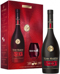 Remy Martin VSOP, Gift Box & glasses фото