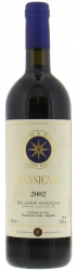Вино Sassicaia Bolgheri Sassicaia DOC, 2002