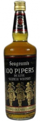 100 Pipers Seagram's 1970s 1 liter фото