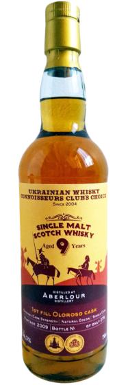 Aberlour Ukrainian Whisky Connoisseurs Club's Choice 9 Years Old фото