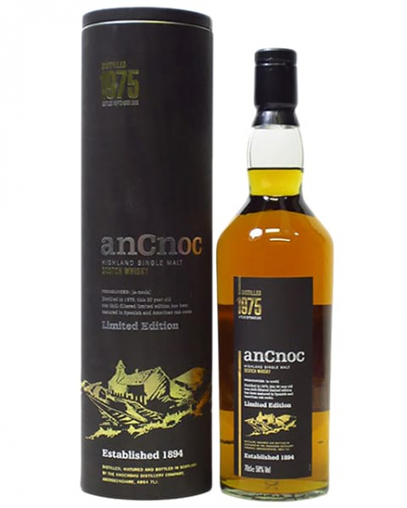 AnCnoc Knockdhu Limited Edition 30 Years Old, 1975 фото