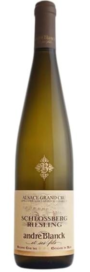 Вино Andre Blanck Riesling Schlossberg Gand Cru