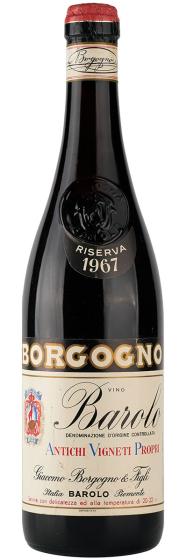 Borgogno Barolo, 1967 фото
