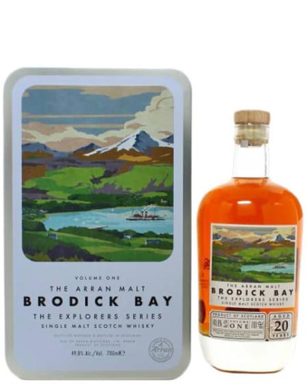 Arran Malt Brodick Bay - The Explorers Series Vol. 1 20 Year Old фото