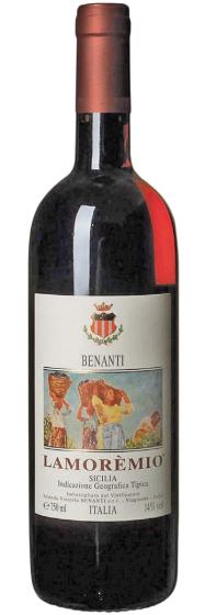 1999 Azienda Vinicola Benanti Lamoremio Rosso фото