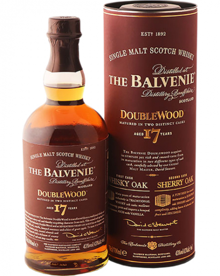 Виски Balvenie Doublewood 17 Years Old