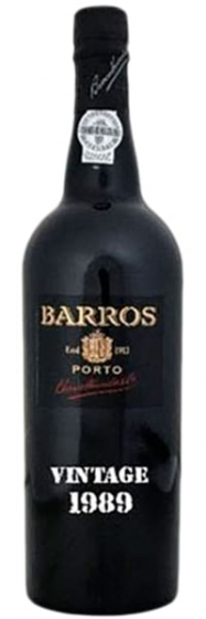 Barros Vintage Port, 1989 фото