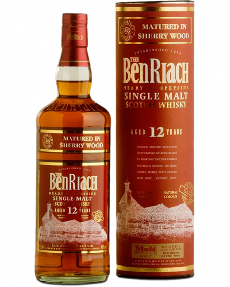 Виски Benriach Sherry Wood