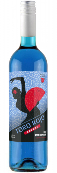 Bodega Toro Rojo Blue Semi Dry фото