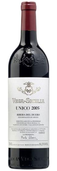 Bodegas Vega Sicilia Unico, 2005 фото
