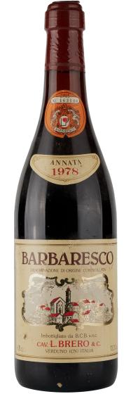 Brero Barbaresco, 1978 фото