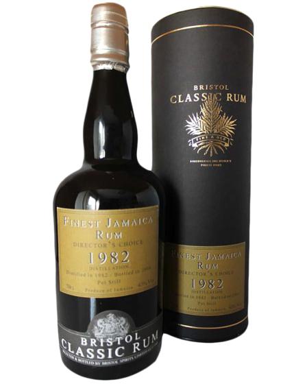 1982 Bristol Classic Rum Demerara фото
