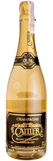Шампанское Cattier Blanc De Blancs Brut