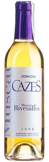 Вино Cazes Muscat De Rivesaltes, 2006