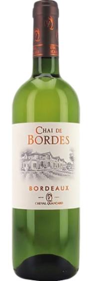Cheval Quancard Chai De Bordes Bordeaux Blanc, 2007 фото
