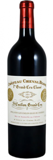 Вино Chateau Cheval Blanc Grand Cru Classe, 2001