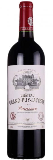 1988 Chateau Grand-Puy-Lacoste Pauillac AOC фото