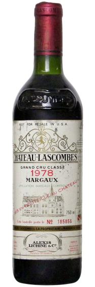 1978 Chateau Lascombes Margaux AOC фото
