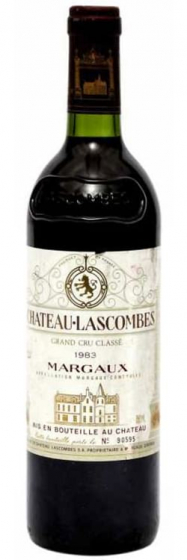 Chateau Lascombes Margaux, 1983 фото