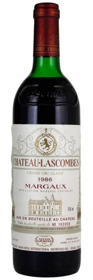 Chateau Lascombes Margaux AOC, 1986 фото