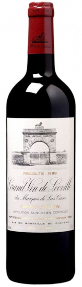 1988 Chateau Leoville Las Cases Grand Vin de Leoville Saint-Julien фото