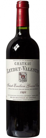 1989 Chаteau Leydet-Valentin Saint-Emilion фото