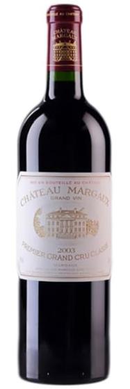 Chateau Margaux Medoc AOC Premier Grand Cru Classe, 2003 фото