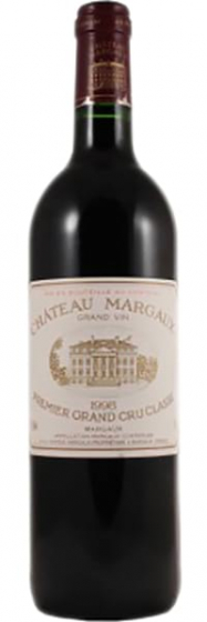 Вино Chateau Margaux Premier Grand Cru Classe, 1998