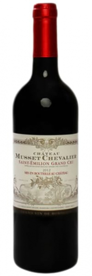 Chateau Musset Chevalier Saint Emilion Grand Cru, 2014 фото